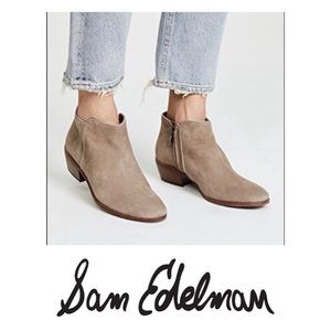 NWOB SAM EDELMAN Petty Chelsea Tan Bootie